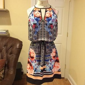 NWT Clover Canyon Print Dress.